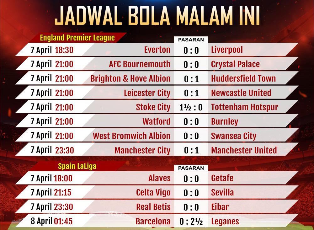 Situs Jadwal Bola Paling Update
